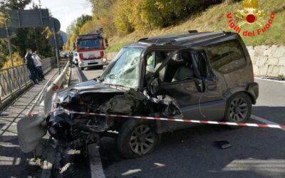 Scontro tra auto a Pontagna, al Civile un 68enne