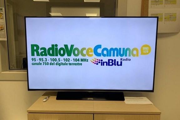 Radio Voce Camuna anche in tv, grazie a Teleboario sul 750 del digitale terrestre!