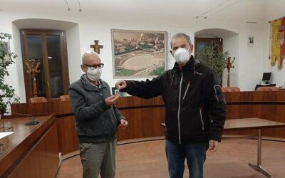 Passaggio di testimone alla Pia Fondazione: Sandrinelli lascia la presidenza a Orizio