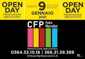 open day 9 gennaio