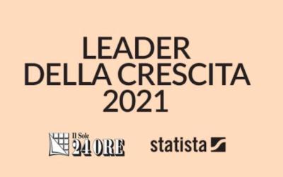 """Anche tre camune tra le aziende """"Leader della crescita 2021"""""""