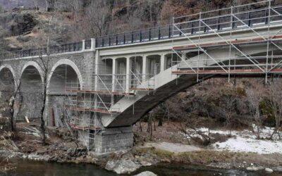 Completata la manutenzione starordinaria dei ponti ferroviari di Sonico e Capo di Ponte