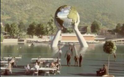 Un'altra opera d'arte sul lago d'Iseo, a Sulzano: l'annuncio di Lorenzo Quinn