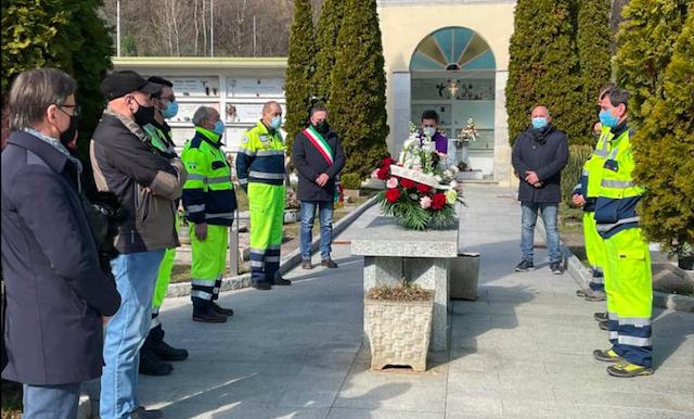 Un anno di Covid-19, la cerimonia commemorativa a Piancogno