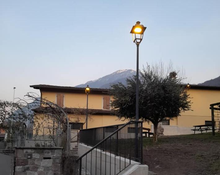 Gianico, l'ammodernamento passa per l'illuminazione pubblica