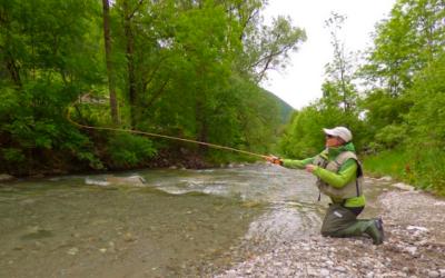 Pesca sportiva, le acque del Bacino 10 ripopolate di trote fario