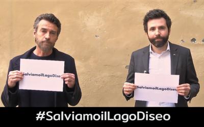 #SalviamoilLagoDiseo: da Alessio Boni e Devis Dori un hashtag per tenere alta l'attenzione sulla frana