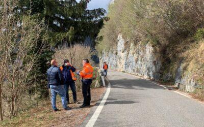 La Provincia annuncia l'inizio dei lavori nel tratto bornese di Sp 5 chiuso da un mese