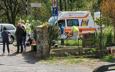 Scontro tra auto a Piamborno: quattro feriti, non gravi