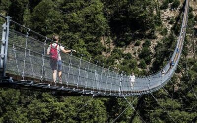 """Questionario online sull'utilità del ponte tibetano in Val Grande, il 74% risponde """"no"""""""
