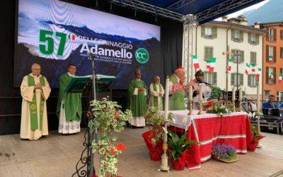 A Breno la cerimonia conclusiva del 57esimo Pellegrinaggio in Adamello