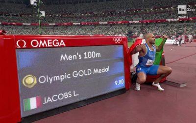 Marcell Jacobs, da Desenzano l'Oro di Tokyo: primo posto nei 100 metri