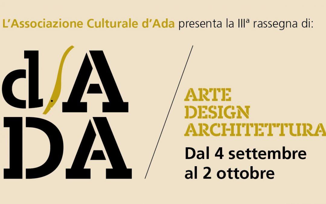 Grandi nomi dell'arte e dell'architettura contemporanea per la III Rassegna d'ADA