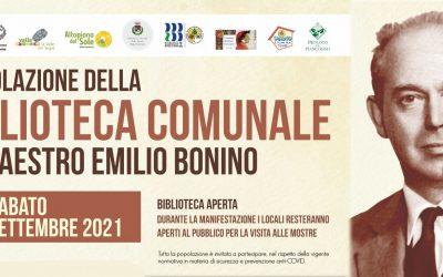 Piancogno intitola la Biblioteca Comunale al Maestro Emilio Bonino