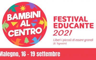"""A Malegno i """"bambini al centro"""" con il Festival educante"""