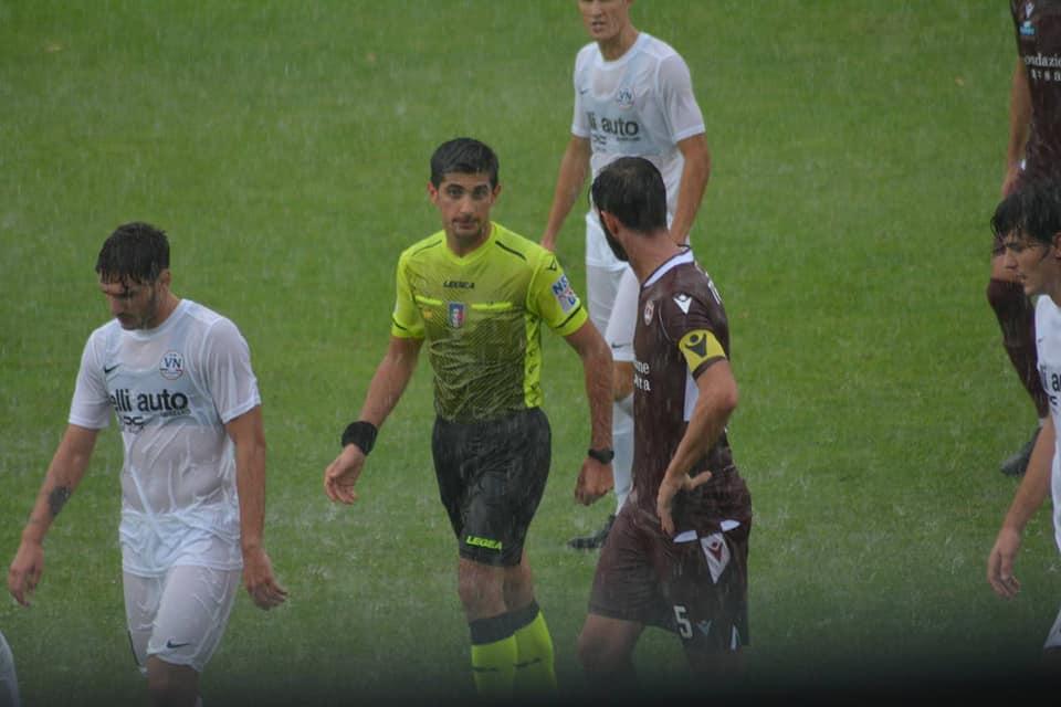 Calcio, debutto sotto la pioggia: sospesa Vis Nova – Breno