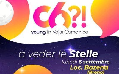 C6?! porta i giovani camuni a vedere le stelle in Bazena