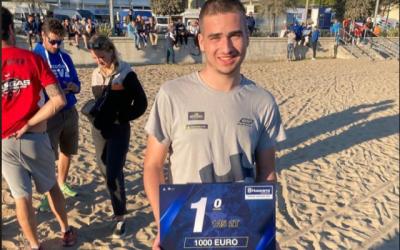 Alessandro Tosana di Losine vincitore del Trofeo Husqvarna di Enduro