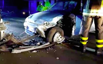 Schianto tra auto a Corti di Costa Volpino, tanto spavento ma nessun ferito grave