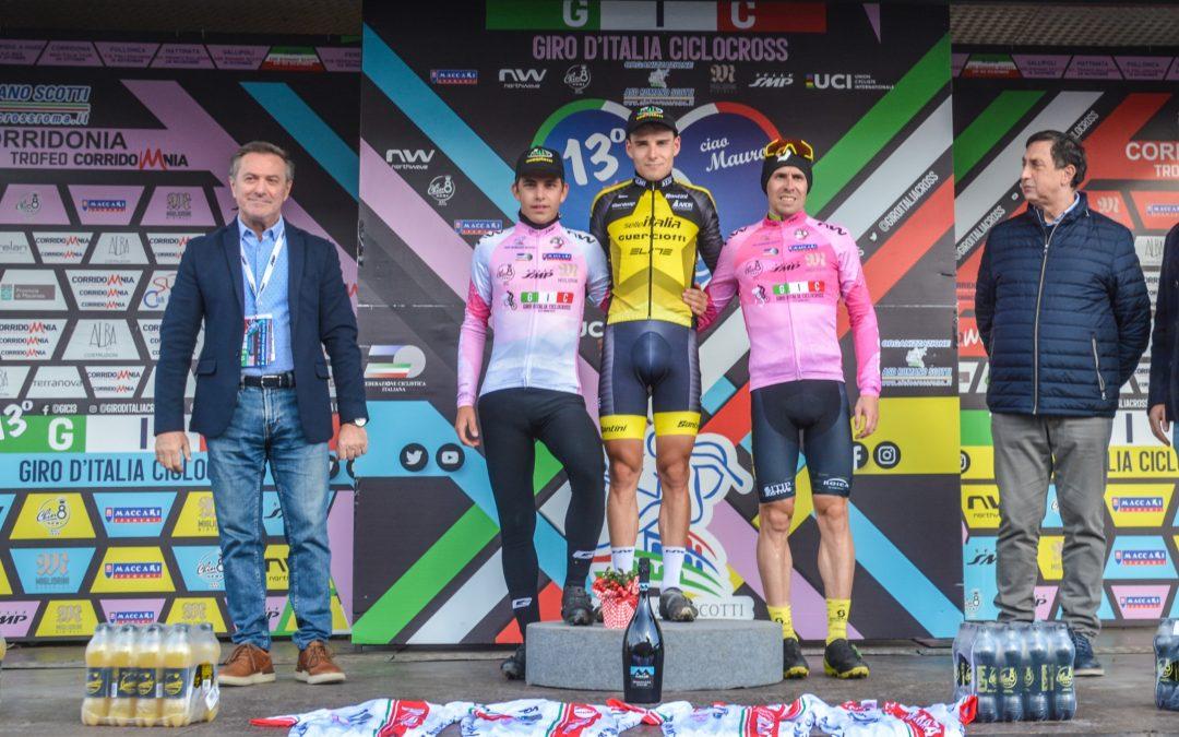Giro d'Italia Ciclocross: Cristian Cominelli maglia rosa
