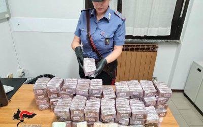 Cocaina e hashish per gli acquirenti camuni: sette arresti tra Bergamo e la Vallecamonica